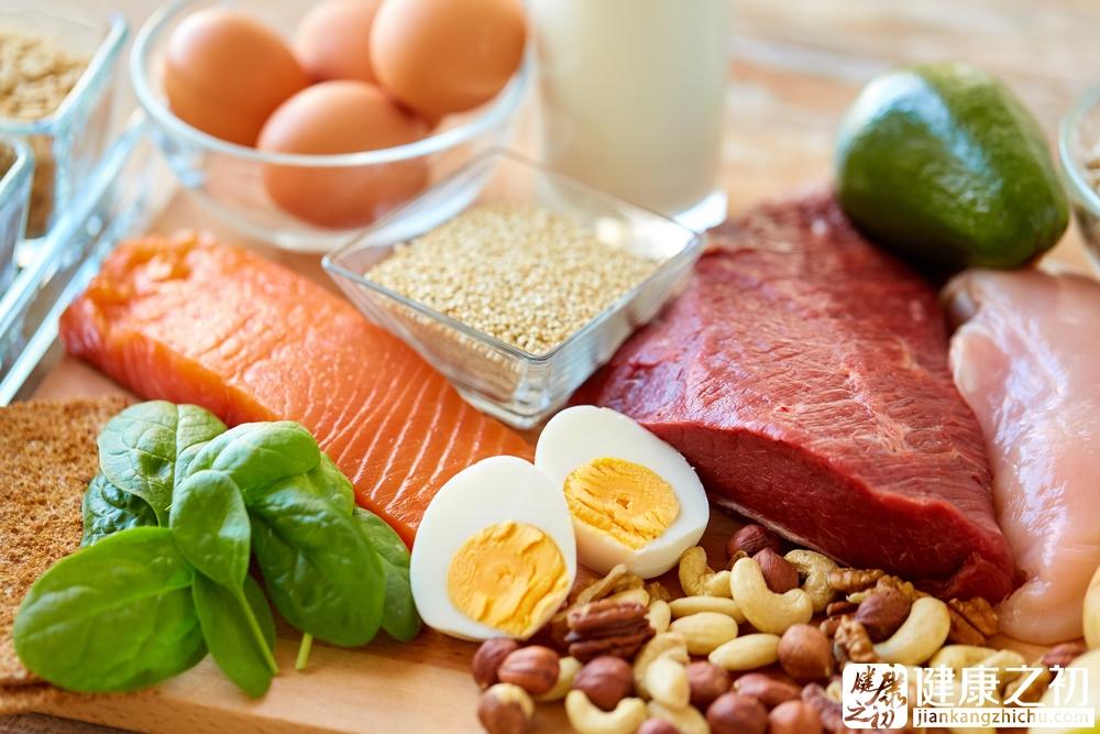 鸡蛋 肉 三文鱼 蔬菜 均衡饮食 营养.jpg